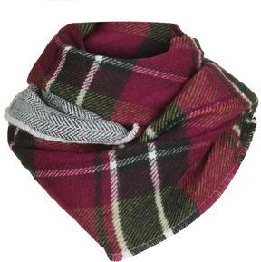 Woolrich Double Plaid Eternity Scarf
