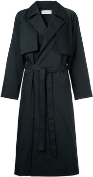 EN ROUTE belted trench coat