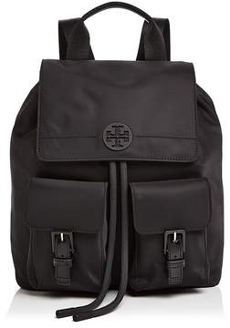 Tory Burch Quinn Backpack - BLACK/GOLD - STYLE