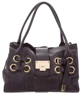 Jimmy Choo Leather Riki Bag
