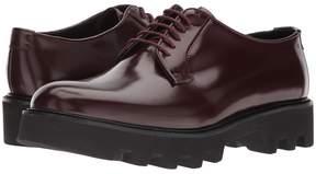 Emporio Armani Plain Toe Double Sole Oxford Men's Lace up casual Shoes