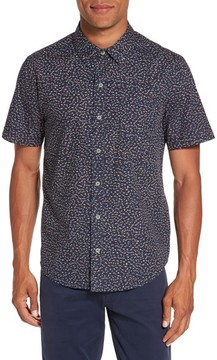 Paige Men's Becker Patterned Woven Shirt