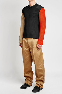 Raf Simons Cotton Chinos with Tape