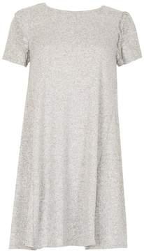 Izabel London *Izabel London Light Grey Frill Shift Dress