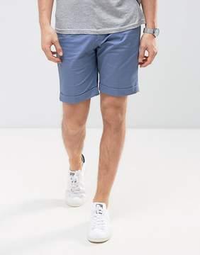 MANGO Man Chino Shorts In Blue
