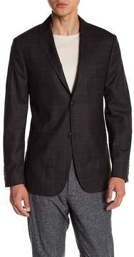 Jack Spade Windowpane Wool Sport Coat