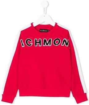John Richmond Kids patch embellished sweatshirt