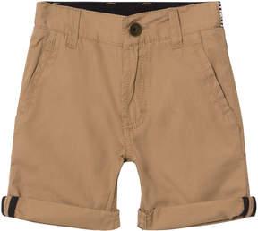BOSS Tan Chino Shorts with Belt