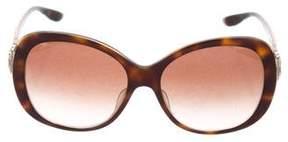 Bvlgari Tortoiseshell Acetate Sunglasses