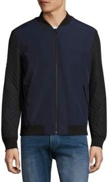 HUGO Belko Diamond Quilted Jacket