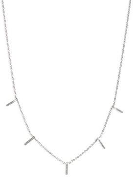 Ef Collection Women's Diamond Collar Necklace
