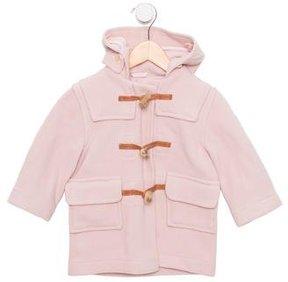 Oscar de la Renta Girls' Wool Hooded Coat