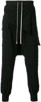 Rick Owens drop-crotch joggers