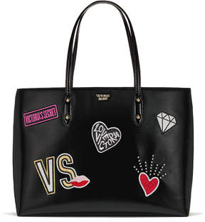 Victoria's Secret Victorias Secret Patch Everything Tote