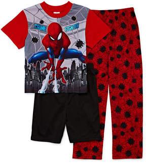 Spiderman 3-pc. Pajama Set Boys