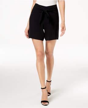 Bar III Tie-Waist Shorts, Created for Macy's