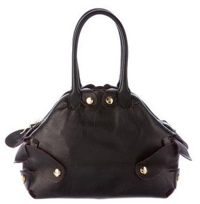 Vivienne Westwood Pebbled Leather Handle Bag