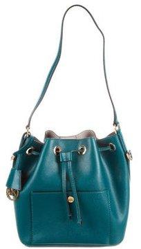 Michael Kors Greenwich Small Saffiano Leather Bucket Bag