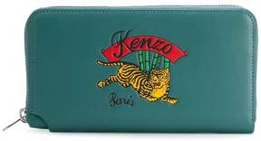 Kenzo embroidered tiger purse