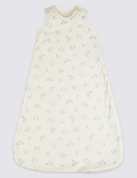 Marks and Spencer Pure Cotton 1.2 Tog Sleeping Bag
