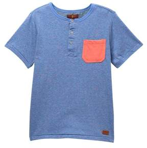 7 For All Mankind Henley Top (Big Boys)