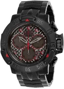 Invicta Men's Subaqua Quartz Chronograph Gunmetal Dial Watch 23809