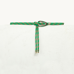 Maje Rope belt with jewellery detailing