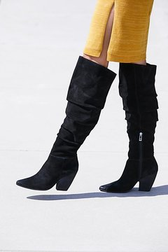 Charles David Jessie Slouch Over-The-Knee Boot by at Free People