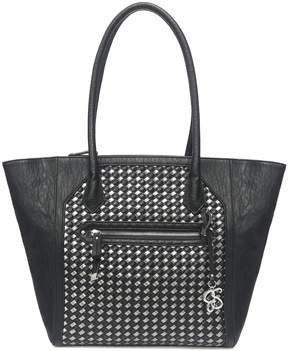 Jessica Simpson Carly Woven Shopper