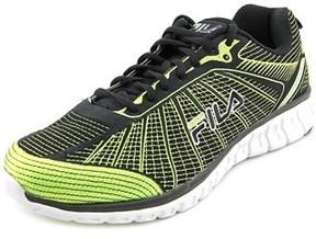 Fila Speedweave Run Ii Men Round Toe Canvas Green Running Shoe.