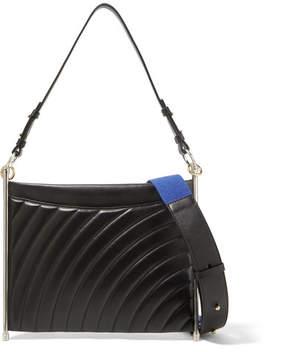 Chloé Roy Quilted Leather Shoulder Bag - Black