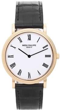 Patek Philippe Calatrava 5120 J 18K Yellow Gold Automatic 35mm Mens Watch