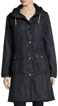 Barbour Winterton Waxed Cotton Jacket, Royal Navy