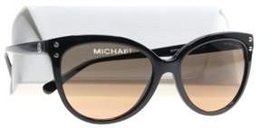 Michael Kors Women's Jan MK2045 55mm Black/Grey/Orange Gradient Sunglasses