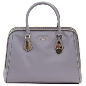 GUESS VG641306CLD Women's Sofie Grey Color Blocked Faux Leather Satchel