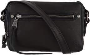 Frye Leather Zip Camera Bag