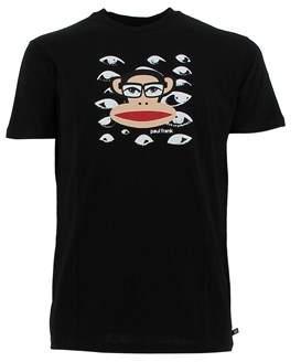 Paul Frank Men's Black Cotton T-shirt.