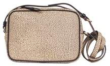 Borbonese Women's Beige Pvc Shoulder Bag.