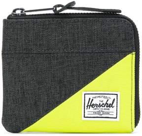 Herschel panelled zip purse
