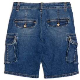GUESS Boy's Denim Cargo Shorts (7-18)