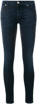 7 For All Mankind classic fitted skinny jeans