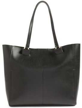 Sole Society Glenn Faux Leather Tote - Black