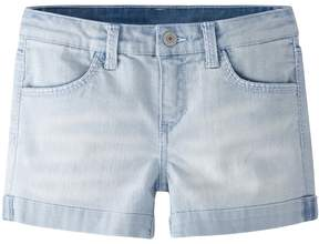 Levi's Girls 4-6x Thick Stitch Shortie Denim Shorts