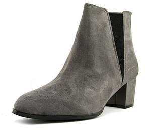 Alfani Vitaa Pointed Toe Suede Ankle Boot.