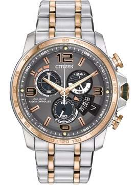 Citizen BY0106-55H Two-Tone Analog Eco-Drive Men's Watch