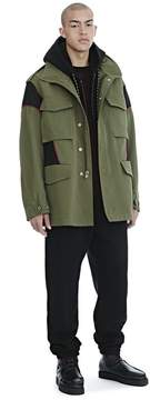 Alexander Wang HYBRID FIELD JACKET JACKETS AND OUTERWEAR