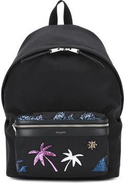 Saint Laurent 'City Sea, Sex & Sun' backpack