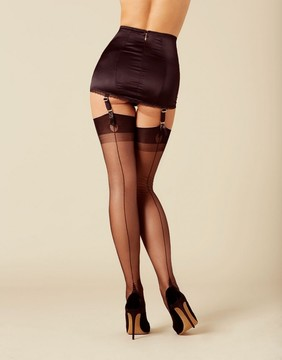 Agent Provocateur Lazulie Stocking Black