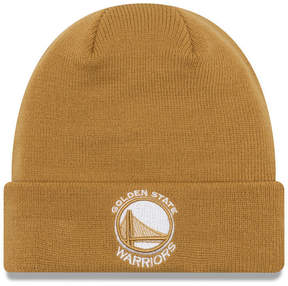 New Era Golden State Warriors Fall Time Cuff Knit Hat