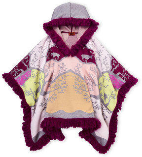 Missoni Girls 7-16) Wool-Blend Hooded Cape